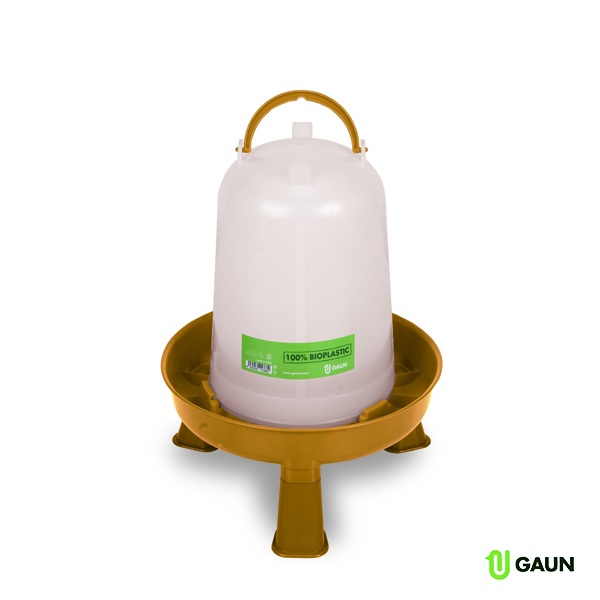 ECO BIO POULTRY FEEDER 5 L. WITH LEGS